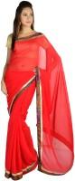 9rasa Solid Chiffon Sari