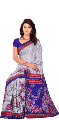 Dream Saree Animal Print Daily Wear Brasso Sari available at Flipkart for Rs.2500