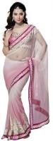 Fashionista Printed Embellished Georgette Sari