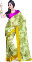 Taanshi Printed Georgette Sari