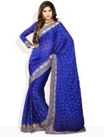 Soch Printed Satin Sari