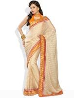 Soch Geometric Print, Floral Print Synthetic Sari