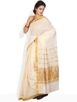 Ennthra Geometric Print Cotton Sari