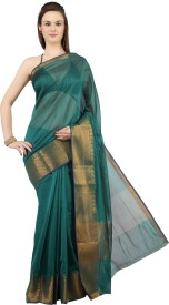 Jashn Printed Fashion Banarasi Silk Sari