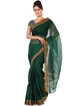 Paaneri Self Design, Solid Fashion Handloom Cotton Sari