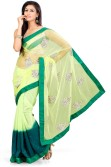 Indian Saree Self Design Bollywood Net Sari