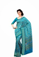 Dream Saree Printed Silk Sari