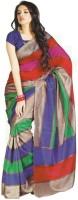 Saran Printed Art Silk Sari