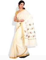 Ennthra Striped Cotton Sari