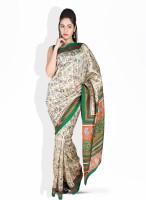 Boondh Synthetic Sari