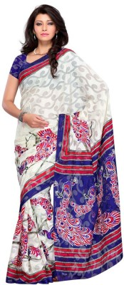Fashion Saree Printed Daily Wear Brasso Sari available at Flipkart for Rs.2450