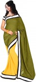 Bollywood Saree Solid Bollywood Cotton Sari