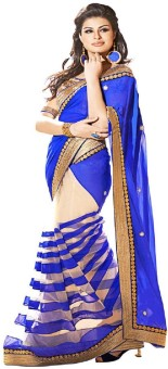 Bollywood Designer Self Design Bollywood Machine Georgette Sari