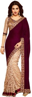 Laxmipati Sarees Paisley Fashion Poly Silk Sari