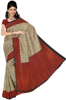 Rangmanch Printed Silk Sari