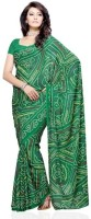 Dealtz Fashion Printed Crepe, Silk Sari