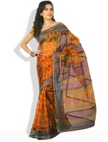 Shreejee Striped Synthetic Sari