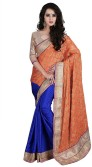 Saree Sansar Embriodered Daily Wear Viscose Sari