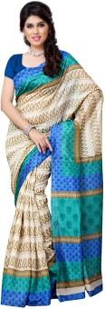 Diva Fashion Printed Art Silk Sari