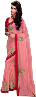 Sudarshan Silks Self Design Embellished Jacquard Sari