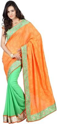 Saree India Embriodered Fashion Jacquard Sari