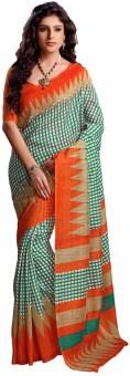 Fashiondodo Printed Bhagalpuri Art Silk Sari - SARE4GFEXR695SPQ