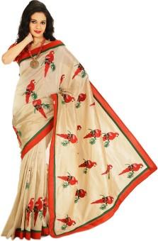 Creation Applique Bollywood Art Silk Sari