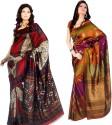 Sunaina Printed Art Silk Sari - SARDTX45DFZPBTAB