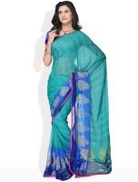 Manvi Printed Chiffon Sari