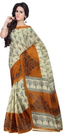 Shonaya Printed Fashion Art Silk Sari