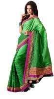 Bhavi Striped Jacquard, Cotton Sari