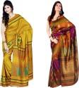 Sunaina Printed Art Silk Sari - SARDTX45PGDJETZ4