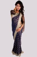 Aparnaa Printed Embroidered Embellished Tissue Sari