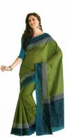 Ashika Printed Art Silk Sari