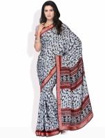 Manvi Printed Silk Sari