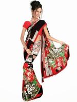 Rangmanch Printed Chiffon Sari