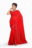 De Marca Printed Chiffon Sari