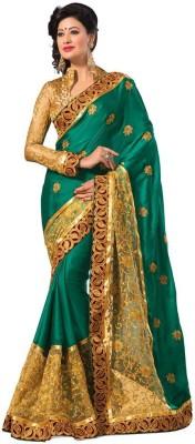 Shruti99fashion Embriodered Bollywood Jacquard Sari