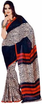 Miraan Printed Mysore Art Silk Sari