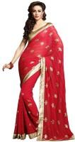 Ethnic Dukaan Printed Chiffon Sari
