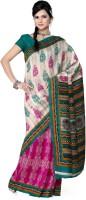 Saree Swarg Printed Jacquard Sari