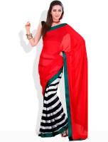 Adaas Printed Silk Sari