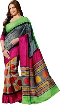 Taanshi Printed Bhagalpuri Art Silk Sari