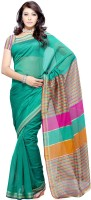 Priyankas Printed Art Silk, Cotton Sari