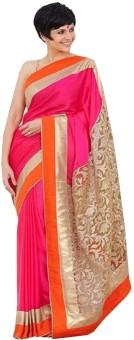 Drophilla World Embriodered Bollywood Cotton Sari