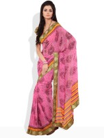 Seymore Solid Synthetic Sari