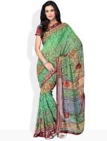 Manvi Printed Georgette Sari
