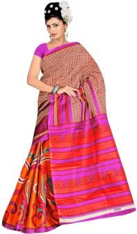 Kajal Printed Bhagalpuri Art Silk Sari
