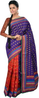 RB Sarees Self Design Fashion Chanderi Sari