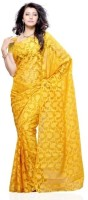 Dealtz Fashion Printed Net, Brasso Sari